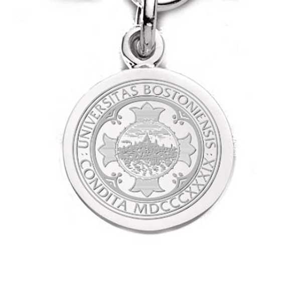 Boston University Sterling Silver Charm