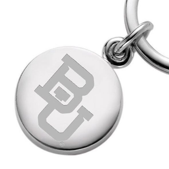 Baylor Sterling Silver Insignia Key Ring - Image 2