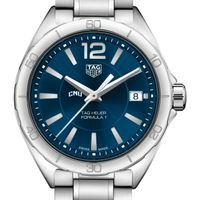 Christopher Newport University Women's TAG Heuer Formula 1 with Blue Dial