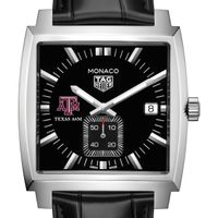 Texas A&M University TAG Heuer Monaco with Quartz Movement for Men