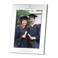 Virginia Tech Polished Pewter 5x7 Picture Frame
