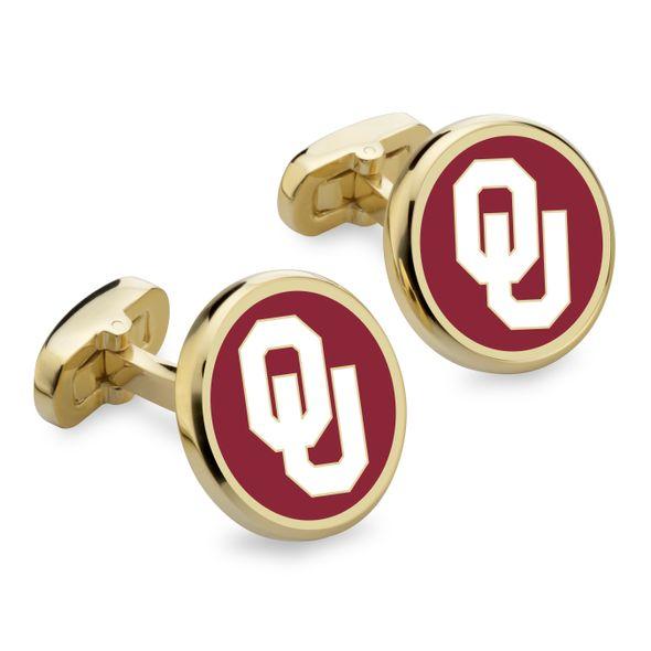 Oklahoma Enamel Cufflinks