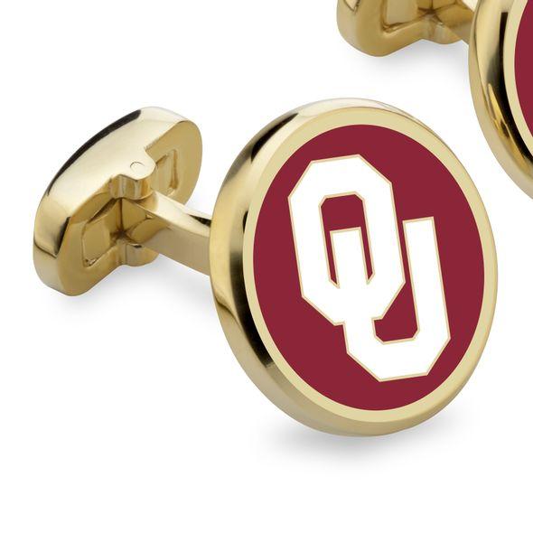 Oklahoma Enamel Cufflinks - Image 2