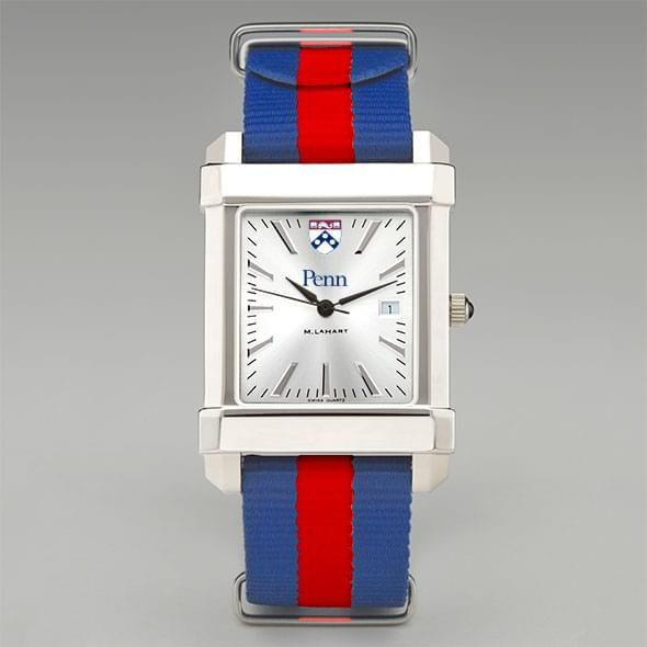University of Pennsylvania Collegiate Watch with NATO Strap for Men - Image 2
