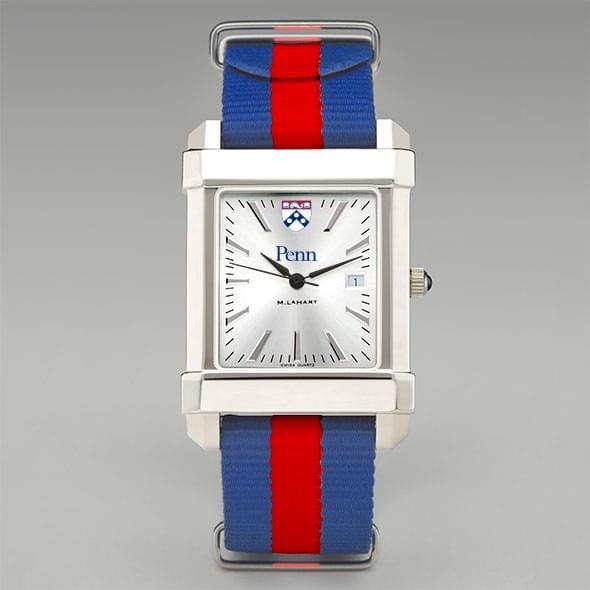 University of Pennsylvania Collegiate Watch with NATO Strap for Men - Image 2