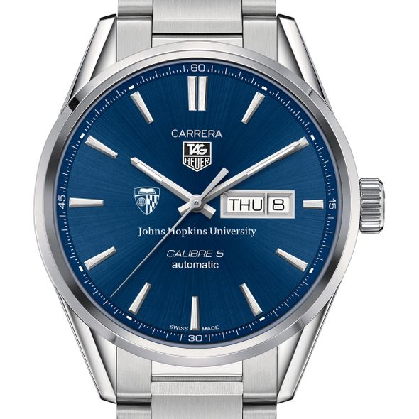 Johns Hopkins University Men's TAG Heuer Carrera with Day-Date