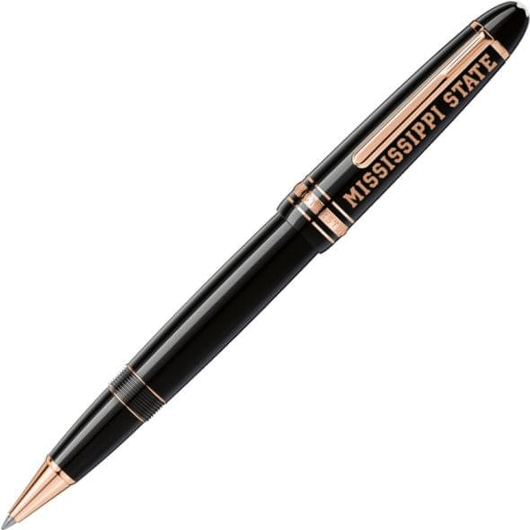 Mississippi State Montblanc Meisterstück LeGrand Rollerball Pen in Red Gold
