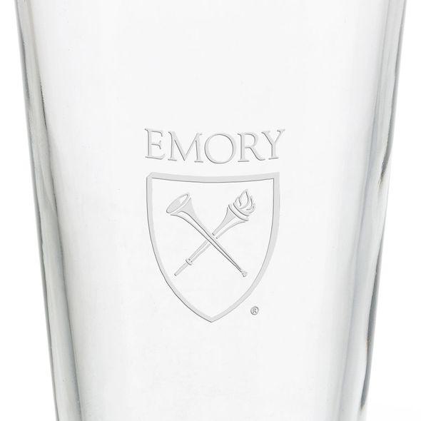 Emory University 16 oz Pint Glass - Image 3