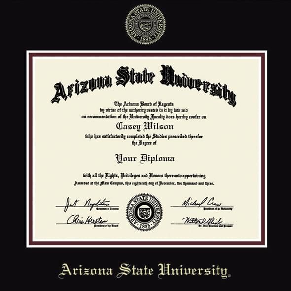Arizona State Diploma Frame, the Fidelitas - Image 2