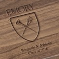 Emory University Solid Walnut Desk Box - Image 2