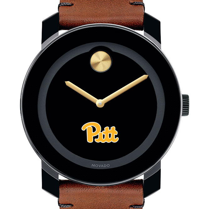 Pitt Men's Movado BOLD with Brown Leather Strap