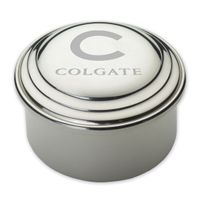 Colgate Pewter Keepsake Box