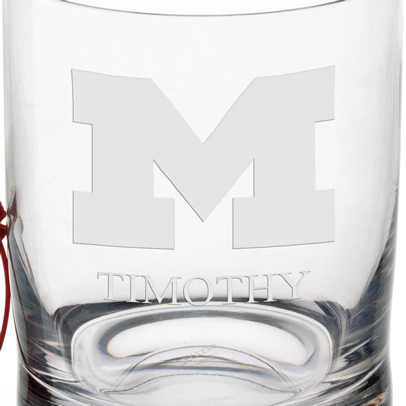 University of Michigan Tumbler Glasses - Set of 4 - Image 3