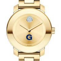Georgetown University Women's Movado Gold Bold