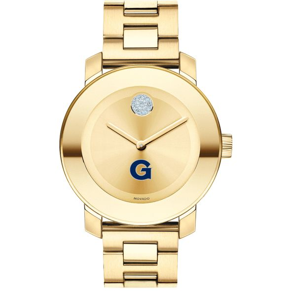 Georgetown University Women's Movado Gold Bold - Image 2