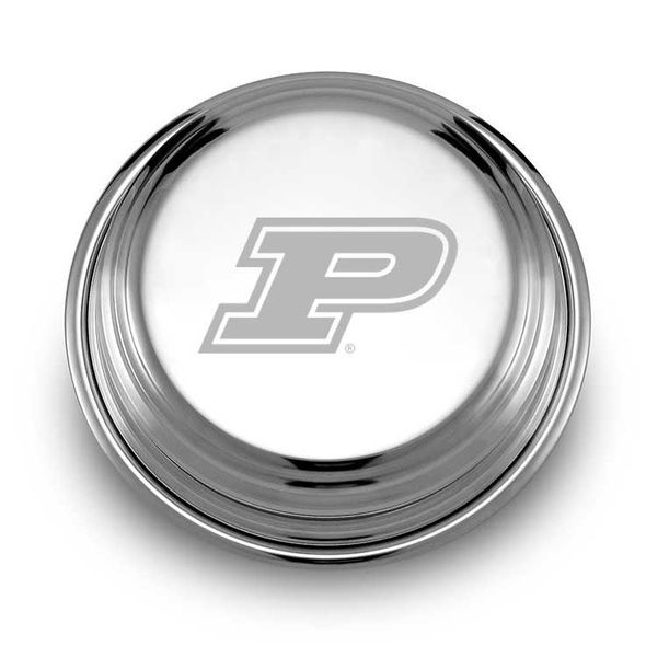Purdue University Pewter Paperweight - Image 1