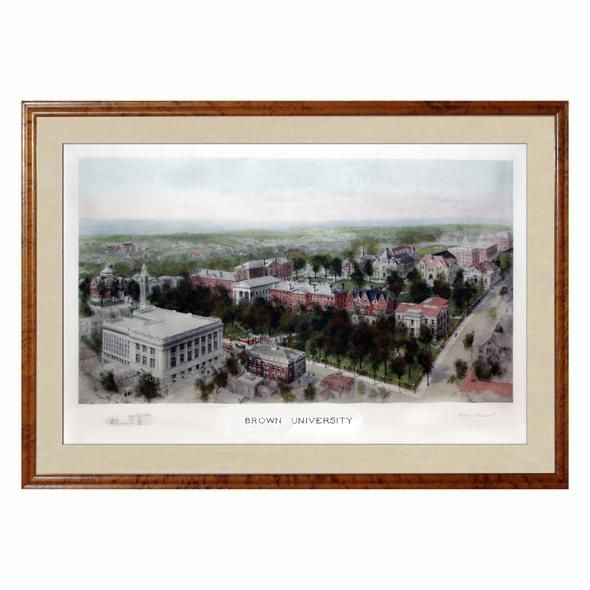 Historic Brown University Watercolor Print