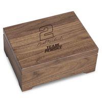 Brad Keselowski Solid Walnut Collector's Box