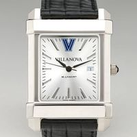 Villanova Men's Collegiate Watch with Leather Strap