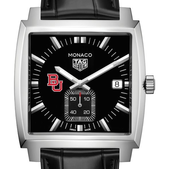Boston University TAG Heuer Monaco with Quartz Movement for Men