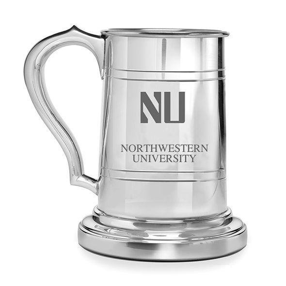Northwestern Pewter Stein