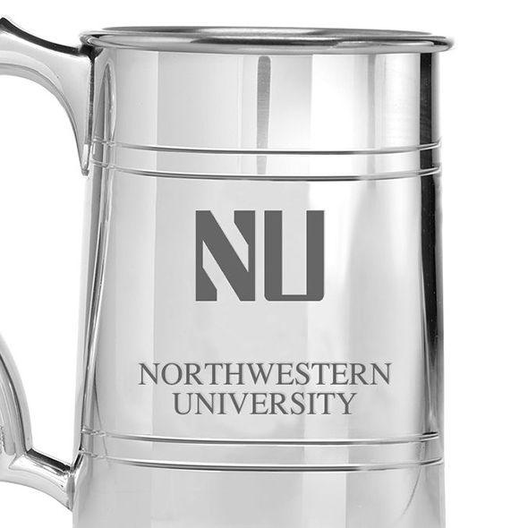 Northwestern Pewter Stein - Image 2