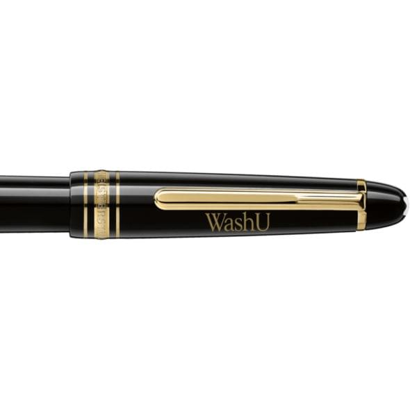 WUSTL Montblanc Meisterstück Classique Fountain Pen in Gold - Image 2