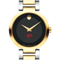 University of Richmond Women's Movado Two-Tone Modern Classic Museum with Bracelet