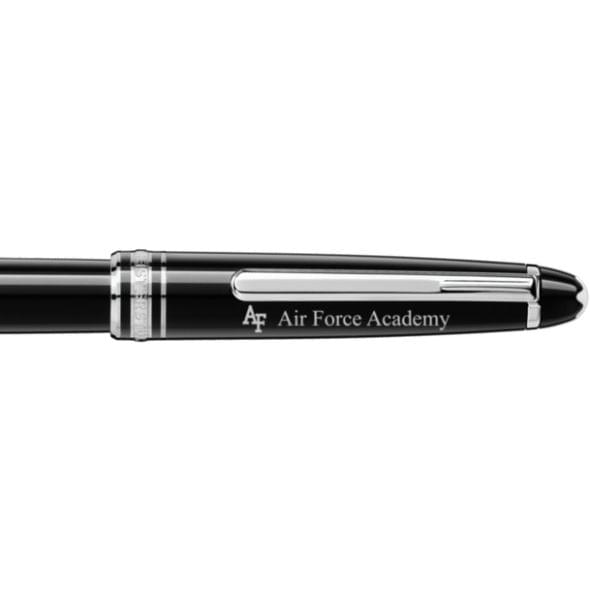 US Air Force Academy Montblanc Meisterstück Classique Rollerball Pen in Platinum - Image 2