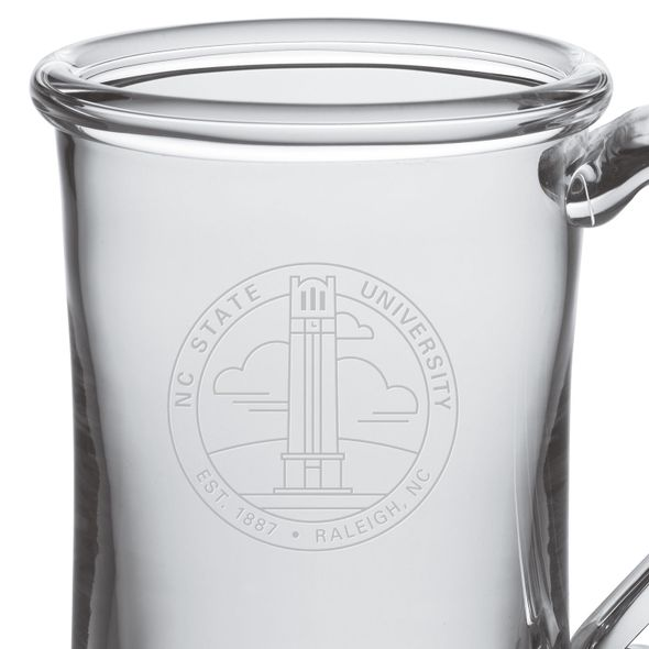 NC State Glass Tankard by Simon Pearce - Image 2