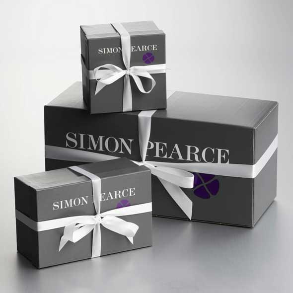 Princeton Glass Bauble Ornament by Simon Pearce - Image 3