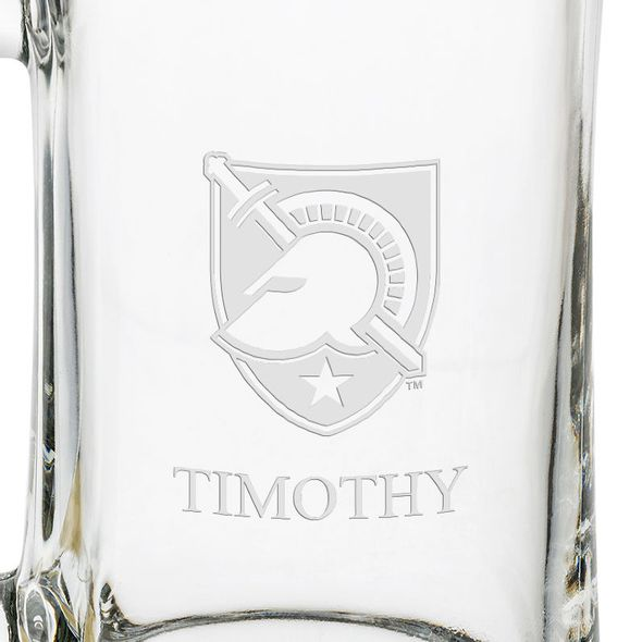 West Point 25 oz Glass Stein - Image 3
