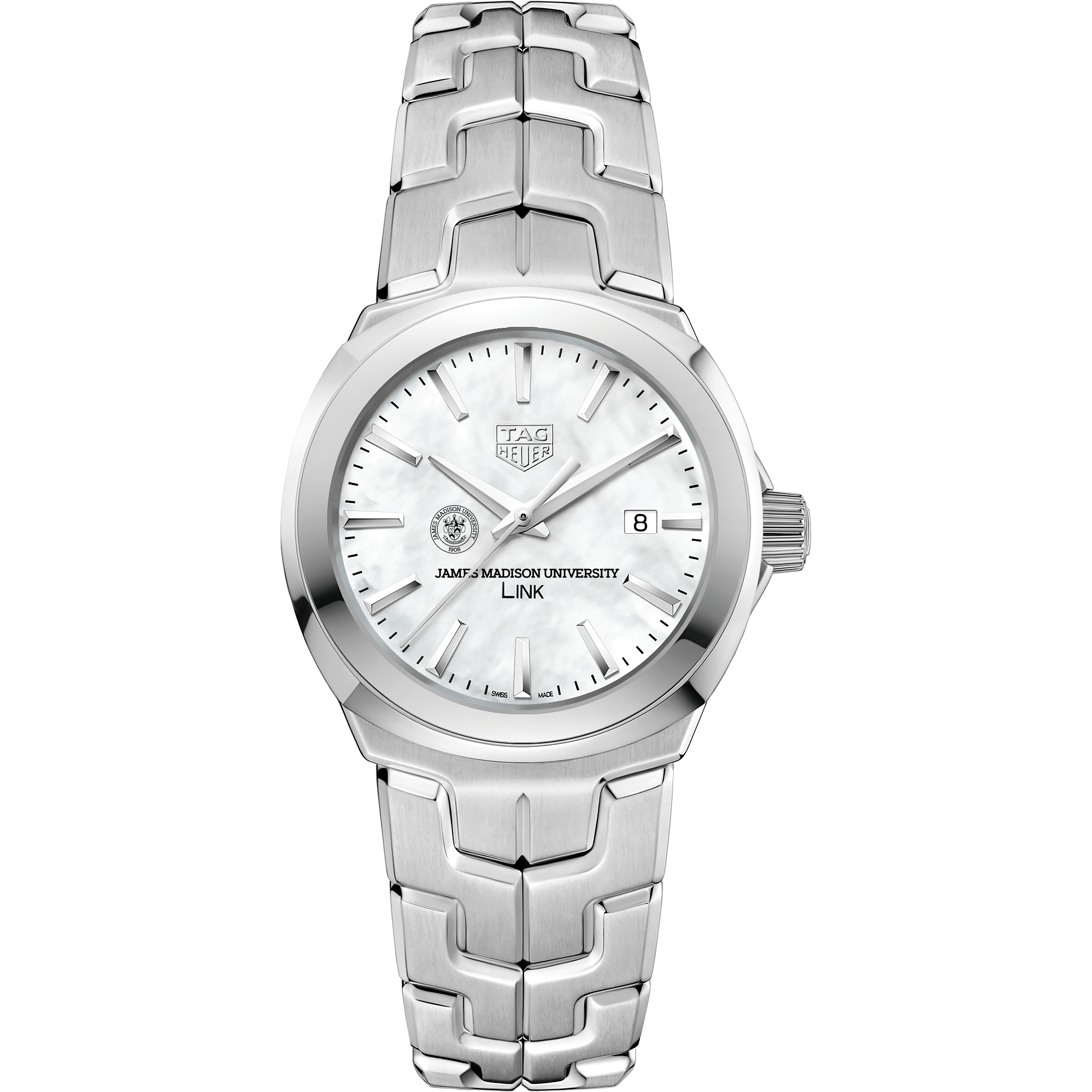 James Madison University TAG Heuer LINK for Women - Image 2