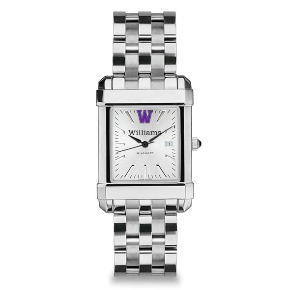 Williams College Men's Collegiate Watch w/ Bracelet - Image 2