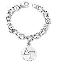 Delta Gamma Sterling Silver Charm Bracelet
