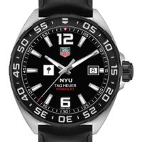New York University Men's TAG Heuer Formula 1 with Black Dial