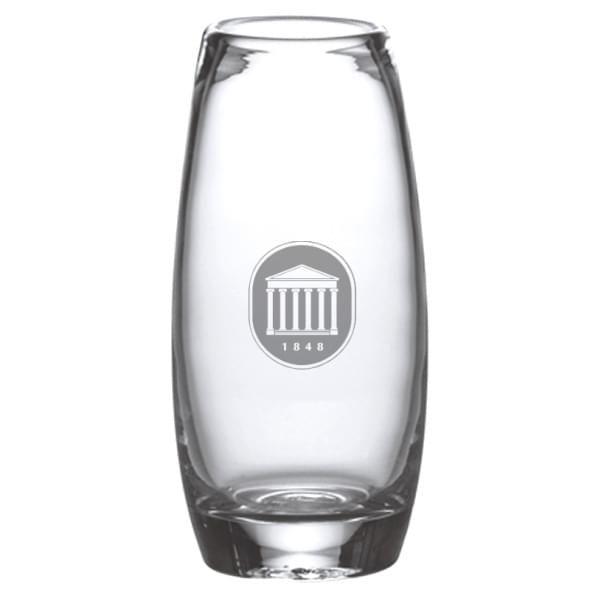 Ole Miss Glass Addison Vase by Simon Pearce