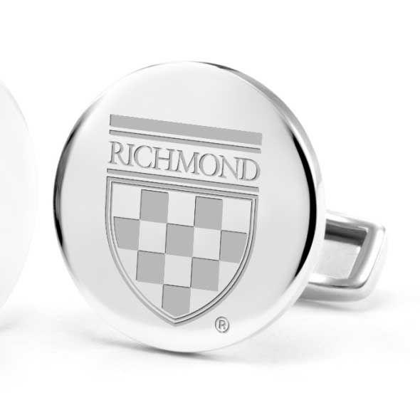 University of Richmond Cufflinks in Sterling Silver - Image 2