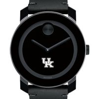 University of Kentucky Men's Movado BOLD with Leather Strap
