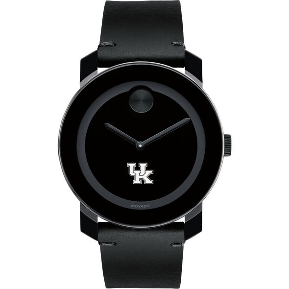 University of Kentucky Men's Movado BOLD with Leather Strap - Image 2