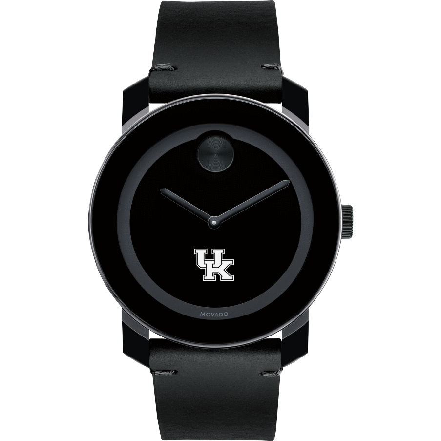Kentucky Men's Movado BOLD with Leather Strap - Image 2
