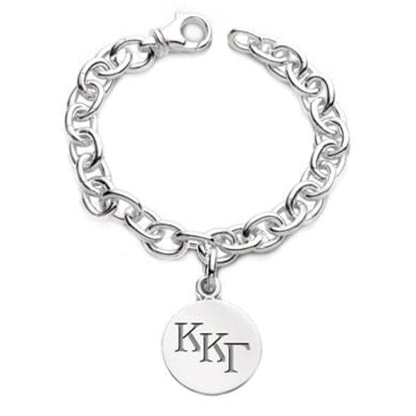 Kappa Kappa Gamma Sterling Silver Charm Bracelet