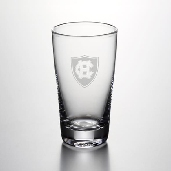 Holy Cross Pint Glass by Simon Pearce