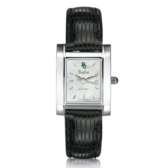 Baylor Women's MOP Quad with Leather Strap - Image 2