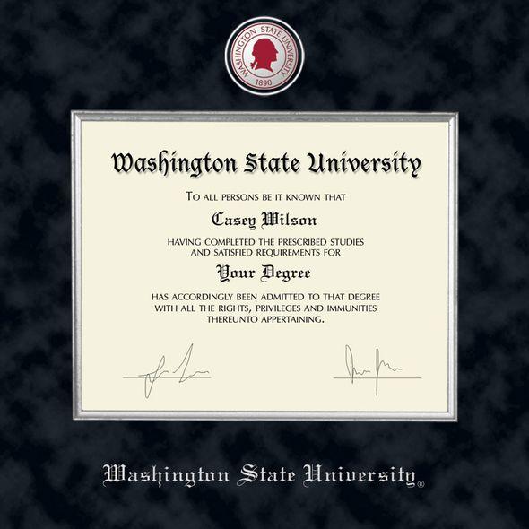 Washington State University Diploma Frame - Excelsior - Image 2