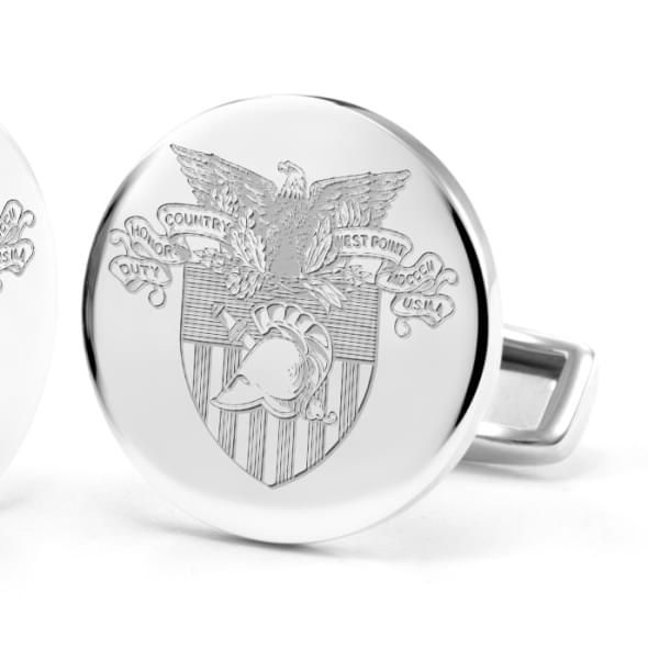 US Military Academy Cufflinks in Sterling Silver - Image 2