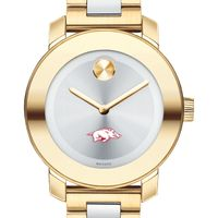 University of Arkansas Women's Movado Two-Tone Bold