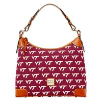 Virginia Tech  Dooney & Bourke Hobo Bag