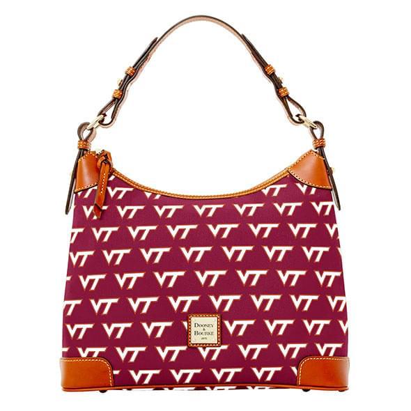 Virginia Tech  Dooney & Bourke Hobo Bag