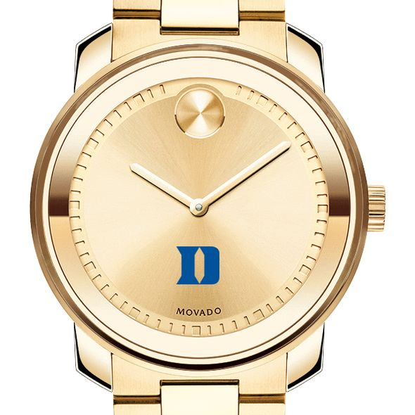 Duke University Men's Movado Gold Bold